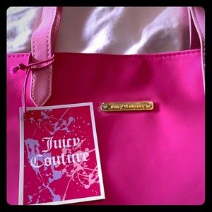 New Juicy Couture Tote bag pink